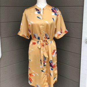 Lovestich Belted Midi Dress